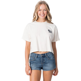 Rip Curl Keep On Surfin Crop Koszulka Kobiety, bone